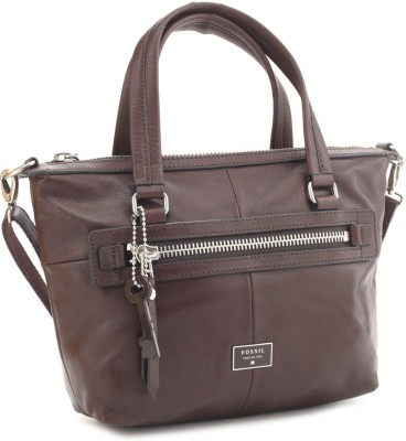 Fossil Women Brown Tote at flipkart