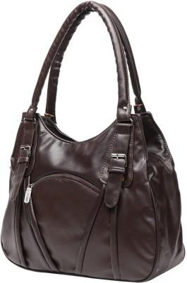 Gioviale Hand-held Bag(Brown)