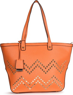 Diana Korr Women Orange Shoulder Bag