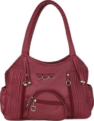 OUTLOOK QUEENS Shoulder Bag(Maroon)