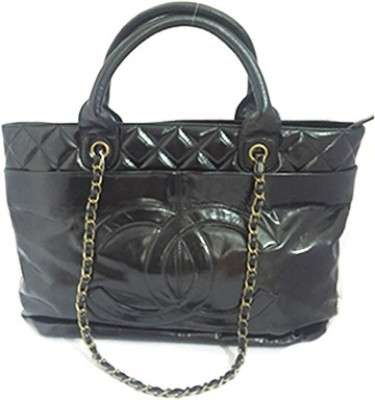 Zaira Diamond Hand-held Bag(Black)