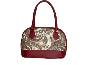 Impress Hand-held Bag(Maroon)