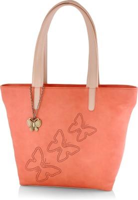Butterflies Women Orange Hand held Bag Butterflies Handbags