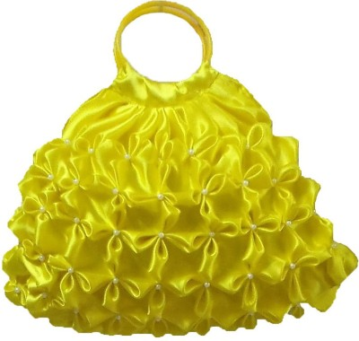 ROSY Girls Yellow Hand held Bag ROSY Bags, Wallets   Belts