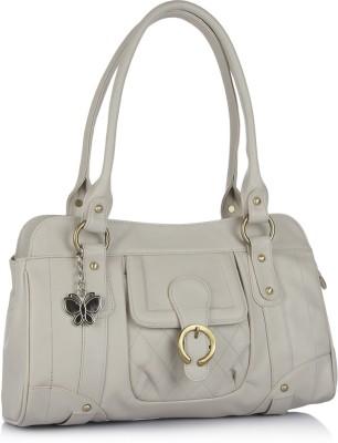 BUTTERFLIES Hand-held Bag(Grey)