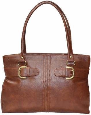 Zircons Hand-held Bag(Tan)