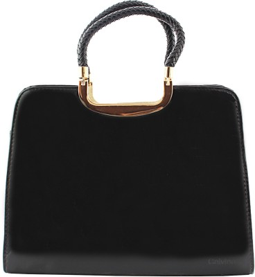 Calvino Hand-held Bag(Black)
