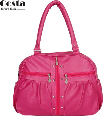 Costa Swiss Hand-held Bag(Pink)