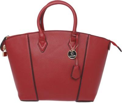 Fur Jaden Hand-held Bag(Maroon)