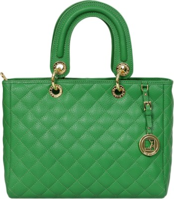 Da Milano Hand-held Bag(Green)