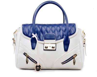 Diana Korr Women White, Blue Hand held Bag Diana Korr Handbags
