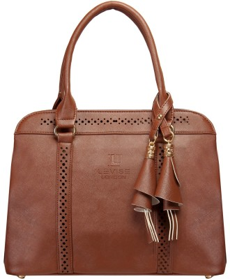 Levise London Hand-held Bag(Brown)