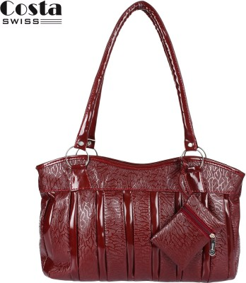 Costa Swiss Hand-held Bag(Maroon)