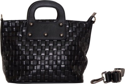 Parv Collections Hand-held Bag(Black)
