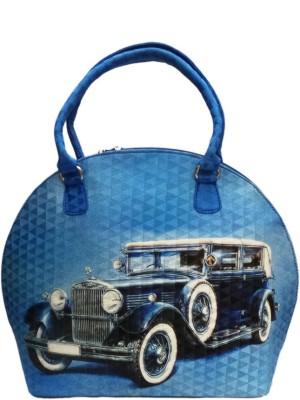 Bhamini Hand-held Bag(Blue)