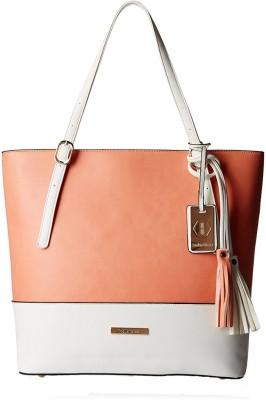 Stella Ricci Women White, Pink Shoulder Bag at flipkart
