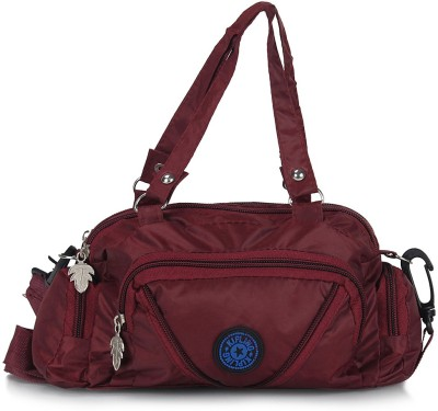 Cottage Accessories Hand-held Bag(Maroon)