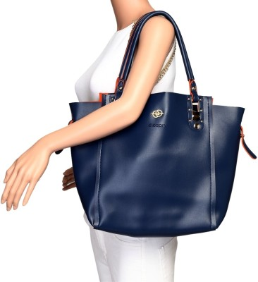 Elespry Women Blue Shoulder Bag at flipkart