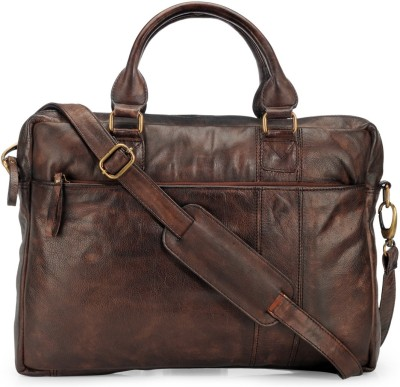 Teakwood Messenger Bag(Brown)