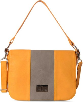 Baggit Shoulder Bag(Yellow)