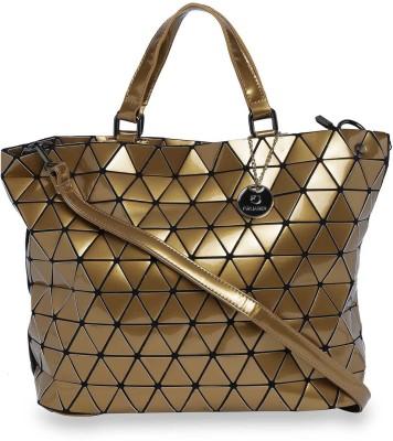 Fur Jaden Hand-held Bag(Gold)