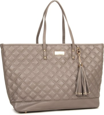 BC BG Women Grey Tote at flipkart