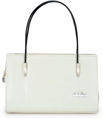 Calvino Hand-held Bag(White)