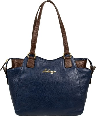 Hidesign Hand-held Bag(Blue) at flipkart