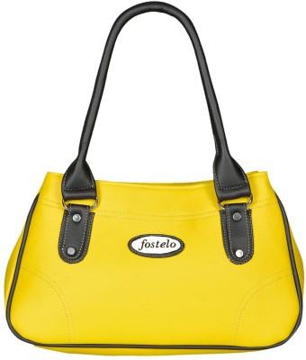 Fostelo Shoulder Bag(Yellow, Black) at flipkart