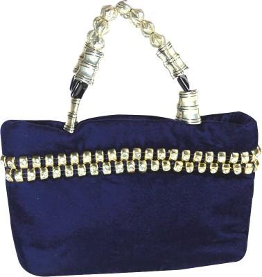 Arisha Kreation Co Hand-held Bag(Blue)