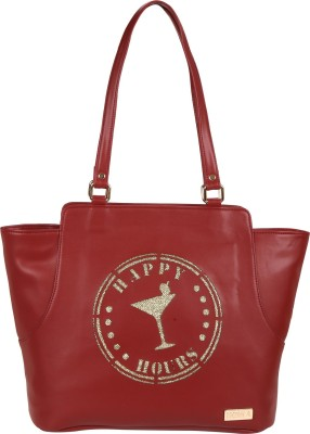 Horra Tote(Maroon) at flipkart