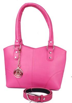 classic fashions Hand-held Bag(Pink) at flipkart