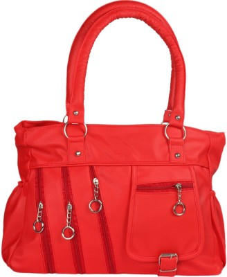 Cottage Accessories Women Red Hand-held Bag