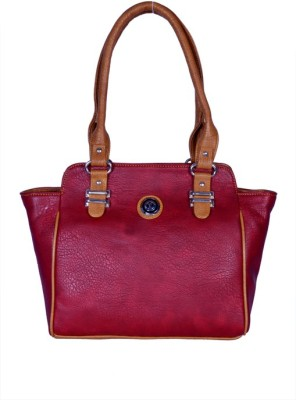 Asterbell Hand-held Bag(Maroon)