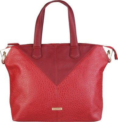 MARIO VALENTINO Women Red Hand-held Bag at flipkart