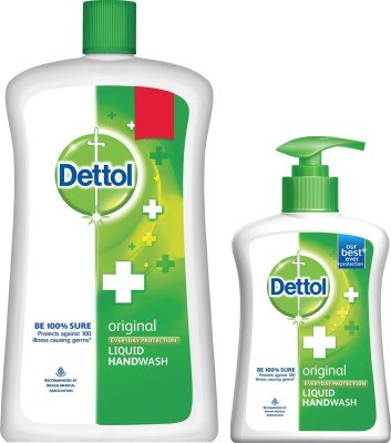 Dettol original every day protection liquid handwash(900 ml, Pack of 2)