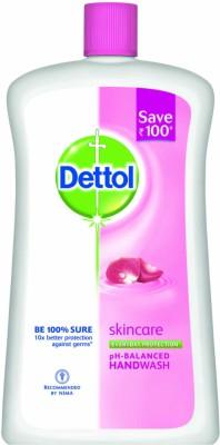 Dettol Skincare Liquid Hand Wash Refill(900 ml)