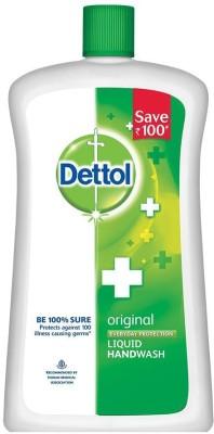 Dettol Original Liquid Hand Wash Refill(900 ml)