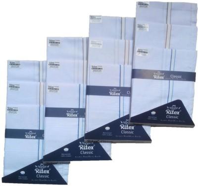 Ritex Classic-Wb Handkerchief(Pack of 12)