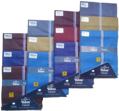 Ritex Classic-Db Handkerchief(Pack of 12)