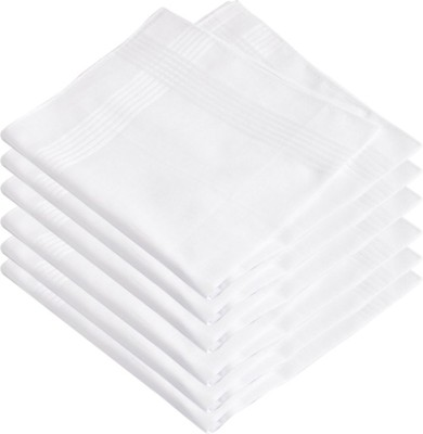 V-Lon Premium Exquisite Pure Handkerchief(Pack of 6)
