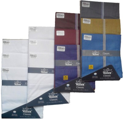 Ritex Classic-6ww-6db Handkerchief(Pack of 12)
