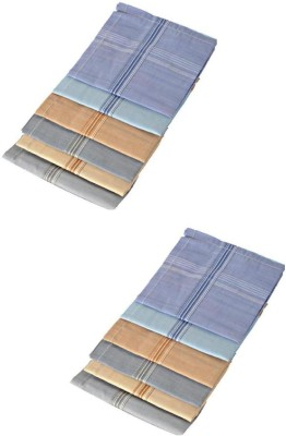 Oshop Trades Stripes Handkerchief(Pack of 12)