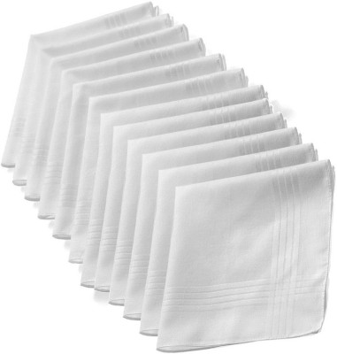 Modish Vogue a6 Handkerchief(Pack of 12)