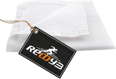 Readybee Extra Premium Exquisite Pure White handkerchief  available at flipkart for Rs.113