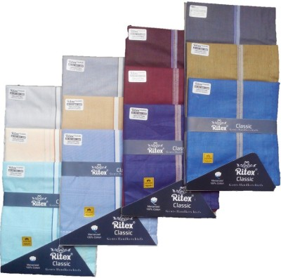 Ritex Classic-6lb-6db Handkerchief(Pack of 12)