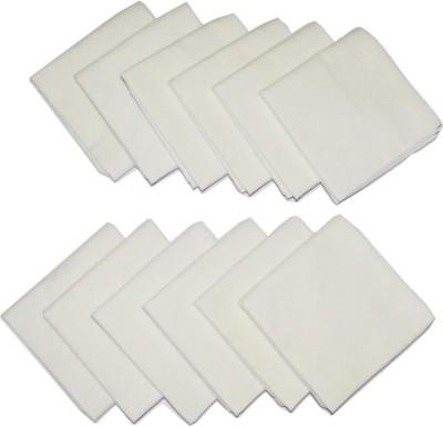 SG Apparels SGHKCH Handkerchief(Pack of 12)