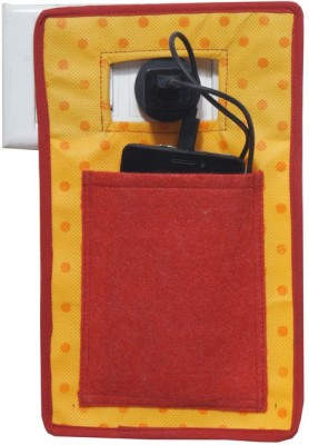 Pretty Krafts Mobile Holder during Charging - Travel Assist Stand - Mobile Carrying Bag/Accesory - Cellphone Cover _Red Accessories Organizer( )  available at flipkart for Rs.106