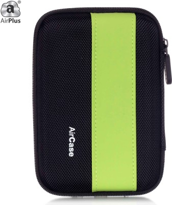 AirPlus Pocket Hard Drive Pouch 2.5 inch External Hard Disk Cover(For Western Digital, Seagate, Sony, Transcend, ADATA, Hitachi, iomega, Toshiba, Dell, Lenovo, HP, and other 2.5 Inch Hard Drive Disk., Green-Black)  available at flipkart for Rs.359