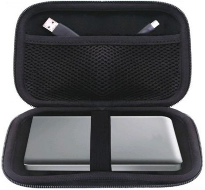 JPRS Portable Case Enclosure 2.5 inch External Hard drive(For Toshiba, Sony, WD, HP, Apple, Samsung, Seagate, Hitachi, Trancend, Black)